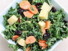 Salata de post, cu morcovi si mere