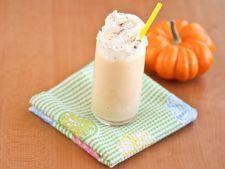 Milkshake cu dovleac si cafea, pentru dimineti pline de energie