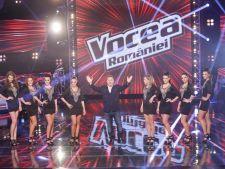 4 antrenori si 16 concurenti lupta pentru trofeul Vocea Romaniei