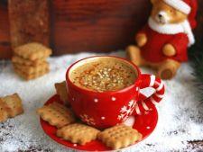 Cafea cu sirop de ghimbir, un rasfat perfect pentru diminetile de iarna