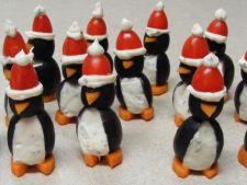 Rasfat de Sarbatori pentru cei mici: Pinguini cu crema de branza