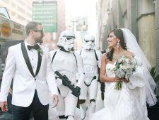 Nunta de poveste alaturi de personajele Star Wars