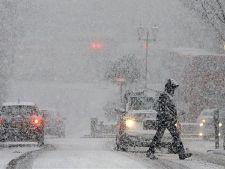 Alerta meteo! Zonele unde meterologii anunta Cod portocaliu de ninsoare