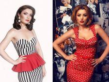 Vedete cu aer retro. Alexandra Ungureanu sau Elena Gheorghe?