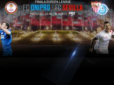 Finala Europa League, transmisa la TV
