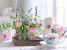 5 aranjamente florale spectaculoase pentru masa