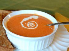 Supa crema de rosii, gata in 10 minute