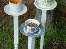 Transforma cestile de ceai in hranitoare pentru pasari