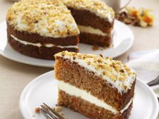 Carrot cake of  , a dessert on the that it should be make at least a life in date