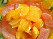 Salata de citrice, perfecta pentru prevenirea racelilor