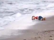 """IMIGRANTI Marturia celui care l-a gasit pe baietelul sirian inecat: """"Ochii..."""