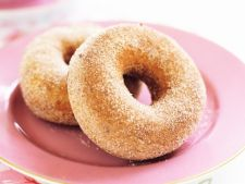 Doughnuts with  , cinnamon delight to the started fall