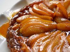 Desert cu gust de toamna: tarta de pere cu migdale