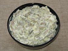 Salata de ciuperci cu marar si maioneza