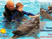 Delfinoterapie si terapie canina pentru copiii cu autism din Romania