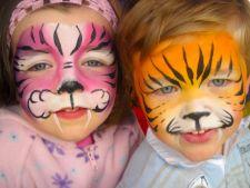 Invata cum sa-ti pictezi singur copilul de Halloween si sa-l feresti de iritatii
