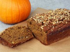 Cake with the pumpkin winter flavors  , for the delicious snacks