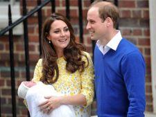 Asa arata Charlotte, fetita cuplului regal britanic. E o minune de copil, care topeste inimile