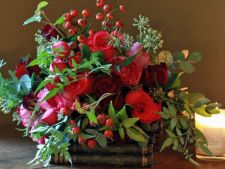 4 arrangements floral with that you impodobesti House in full winter