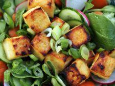 Salata cu branza tofu, un preparat satios, de post