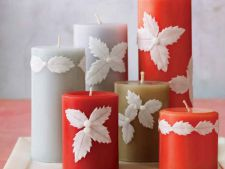 How to create candles perfect for decoarea table of new year's Eve