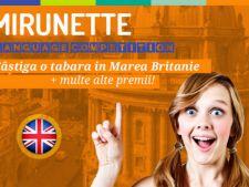 Participa gratuit la Mirunette Language Competition si castiga o tabara in UK!