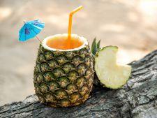 Cocktail savuros cu ananas si lime