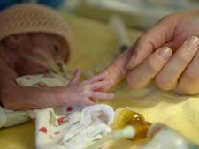 Peste 10% din bebelusii din Romania sunt nascuti prematur