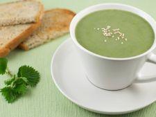 Supa crema de urzici, o reteta simpla si rapida, plina de vitamine