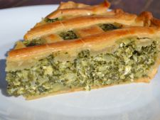 How to make a pie with cheese and spinach delicious