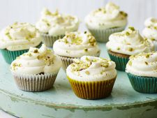 Pistachio muffins with  , a recipe quick what you we conquer the place