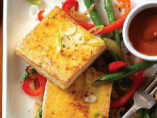 Recipes of  : post crispy Tofu with the sauce peanut