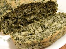 Cake aperitif with  , recipe spinach perfect to the started spring