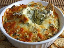 Spinach Gratin  , a  , quick recipe ideal spring