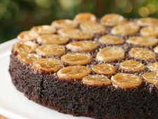 Recipes of  : Cake banana with upside and nuts