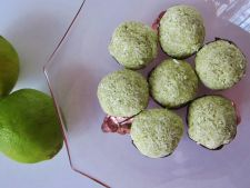 Raw-vegan recipes  : knitting with coconut and lime