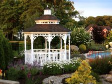 Garden gazebo in  , place perfect for relaxation