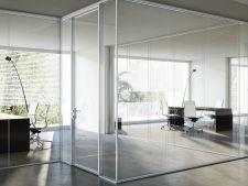 Cateva aspecte despre compartimentari cu pereti din sticla