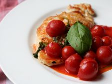 Recipes of  : summer chicken tray with the cherry tomatoes