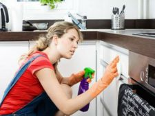 How to the rapid clean lockers kitchen  , of the stains fat