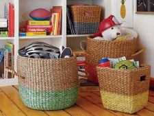 Ingenious ideas   storage for living room child