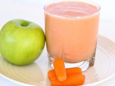 Sucul de morcovi, un deliciu cu multiple beneficii pentru sanatate