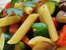 Pasta of  , summer vegetables A true pampering