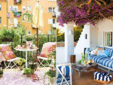 Aer de vacanta? Amenajeaza-ti balconul sau terasa in stil mediteranean