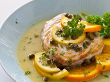 Over with the sauce citrus. a recipe fast delicious  , perfect for dinner