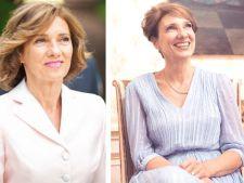 Wow! Cum s-a imbracat Carmen Iohannis la intalnirea cu presedintele francez