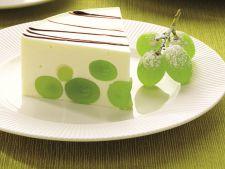 Cum sa prepari cea mai buna bavareza cu struguri
