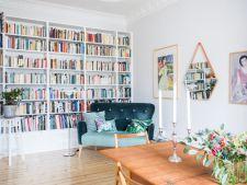 Casa cu cea mai frumoasa biblioteca