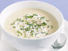 Supa crema de telina, pentru zile de post