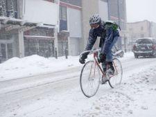 Cum mergem pe bicicleta iarna in oras